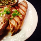 grilled tuna steaks with sesame ginger dipping sauce