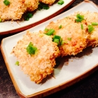crispy baked cauliflower croquettes