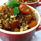 vegetarian slow cooker white bean cassoulet