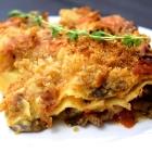truffle thyme mushroom lasagna
