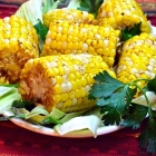 roasted chili lime corn on the cob
