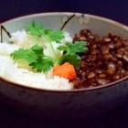 spiced tamarind lentils