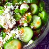 buffalo cucumber salad