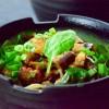 sesame soy eggplant with soba noodles