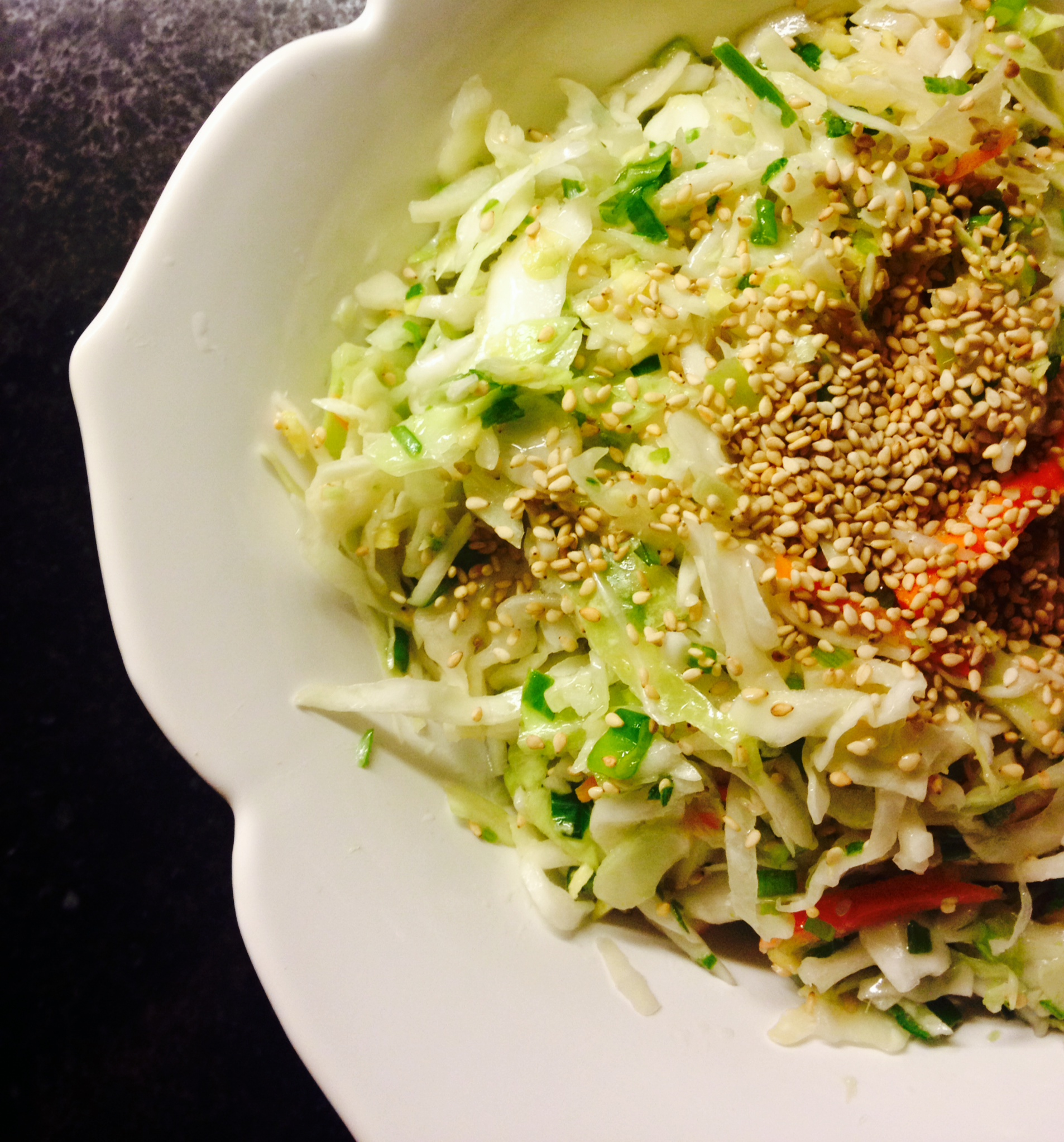 asian slaw :: by radish*rose