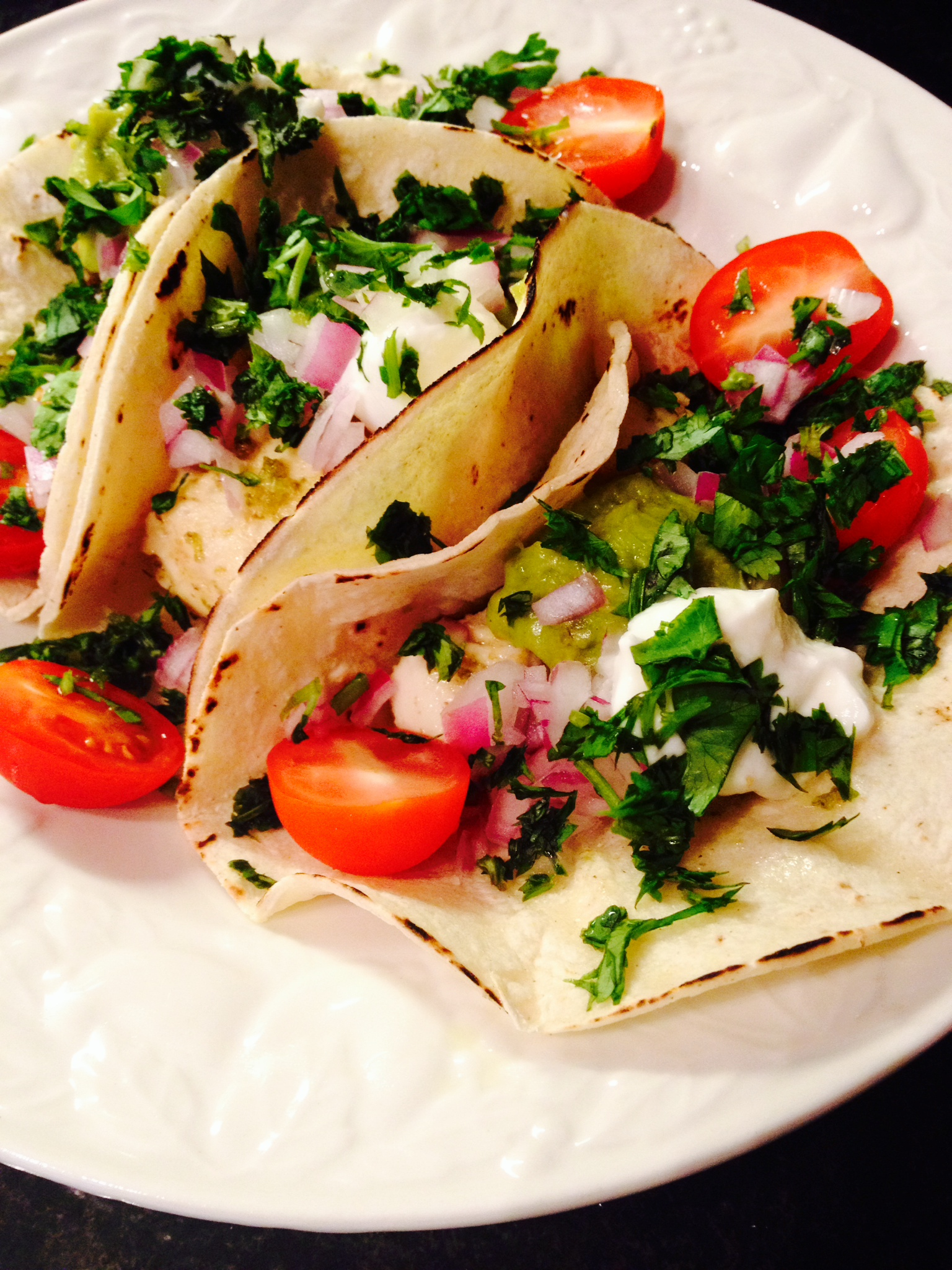 zingy lime-cumin fish tacos :: by radish*rose