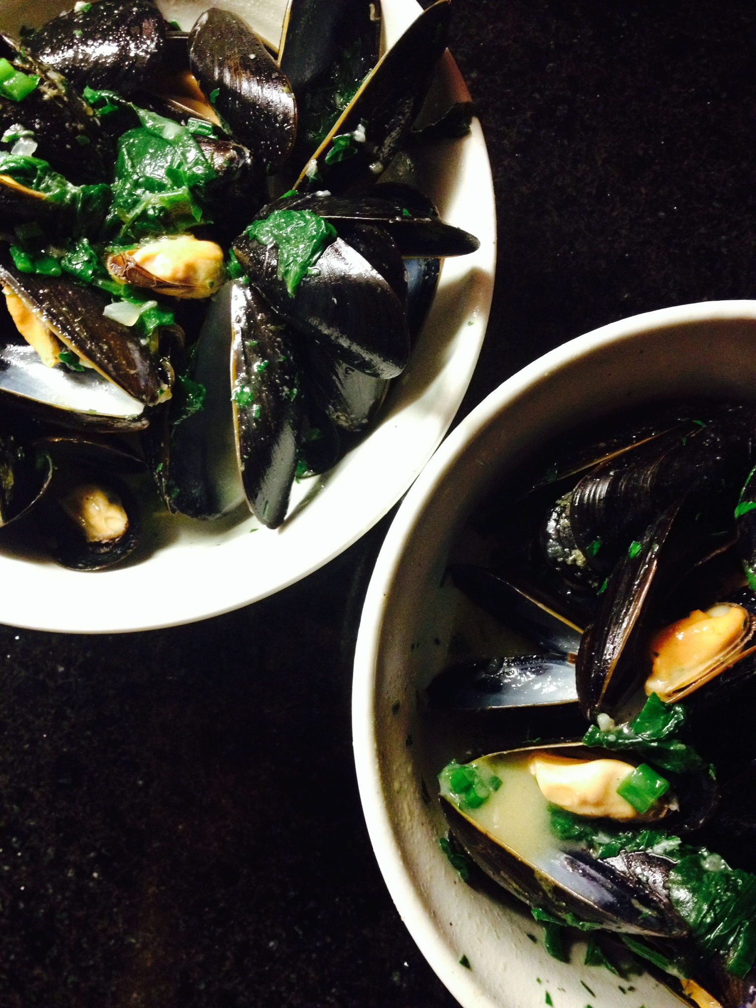 thai-style curry mussels :: by radish*rose