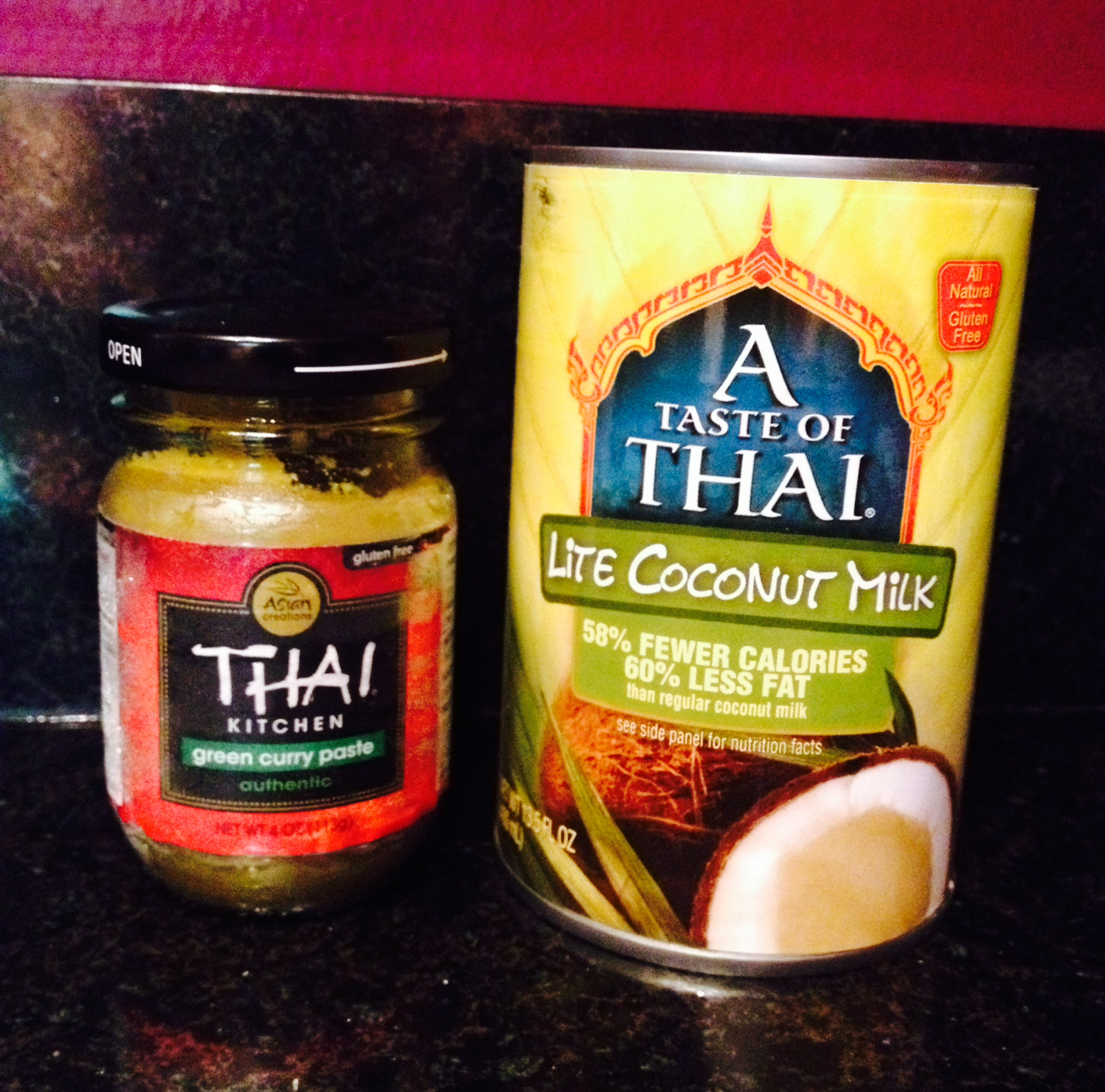 thai curry paste and coconut milk :: by radish*rose