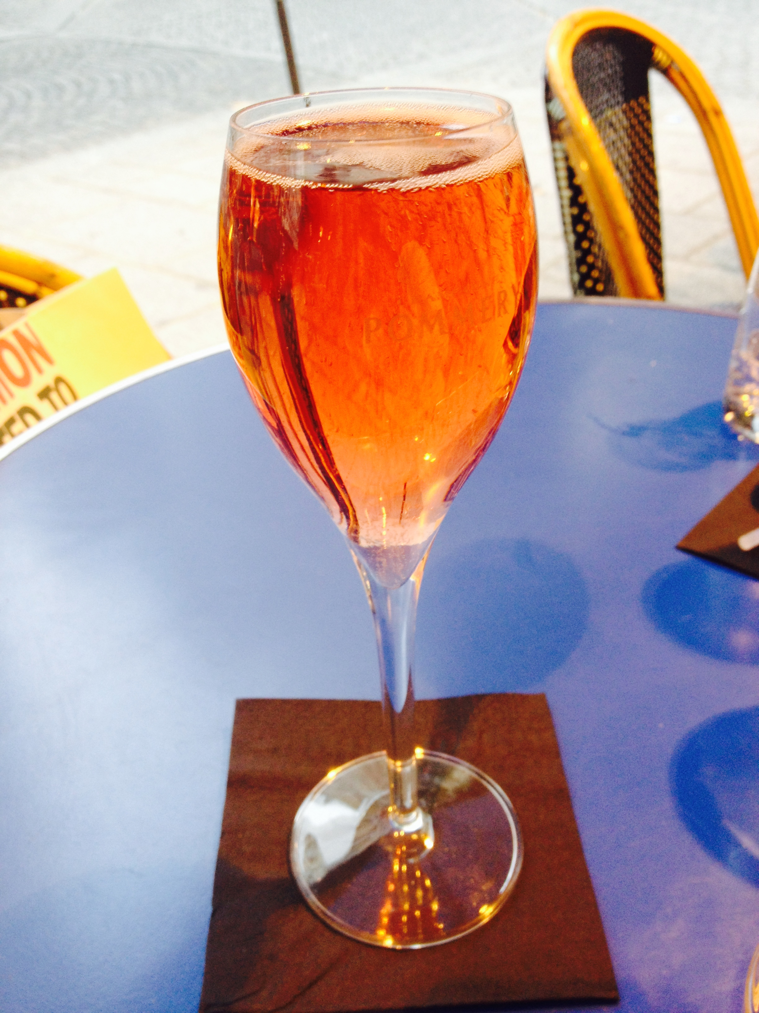 kir royale at french cafe :: by radish*rose