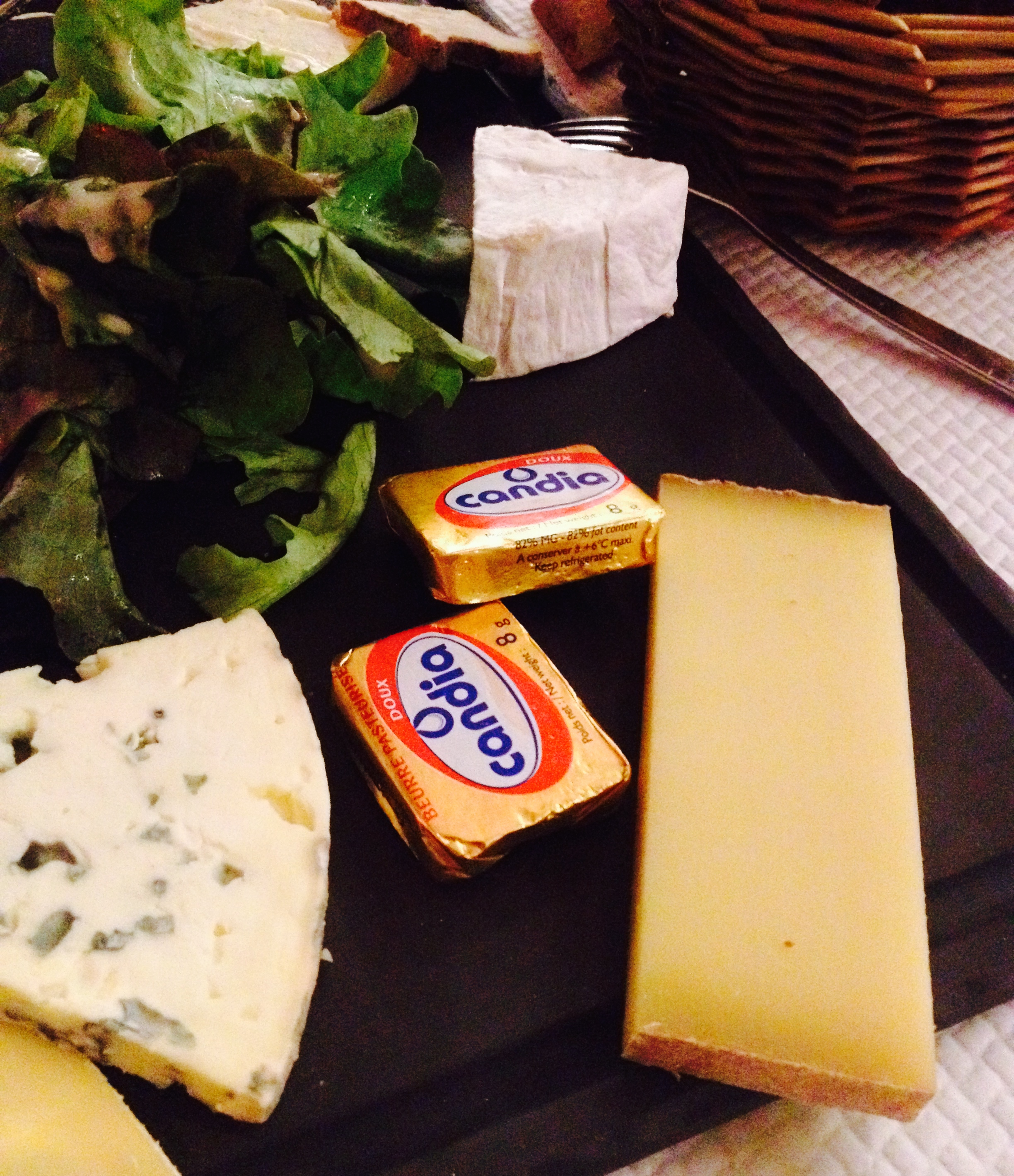 cheese plate at Le Cardinal :: by radish*rose