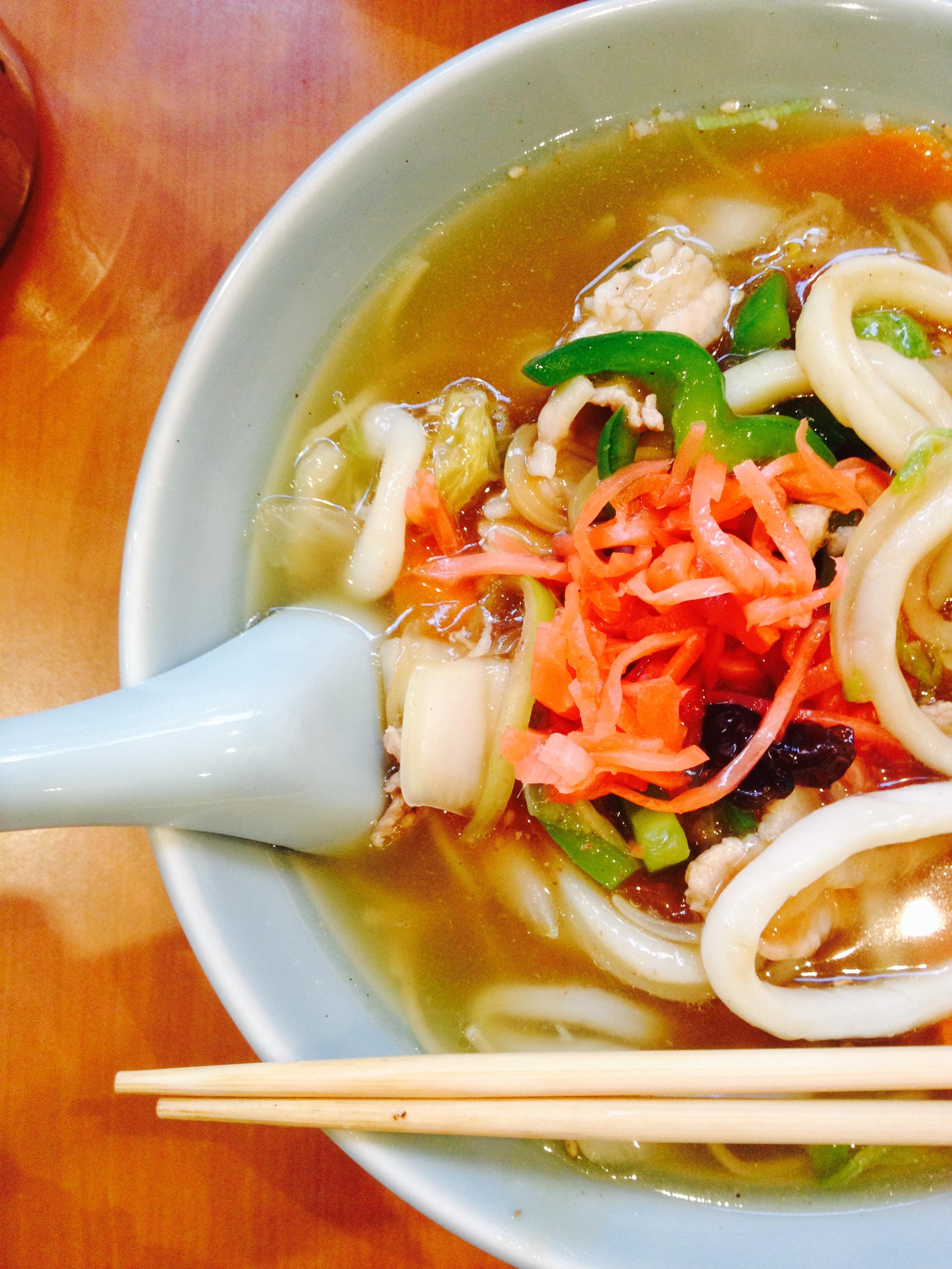 chanpon ramen at the higuma restaurant japonais :: by radish rose