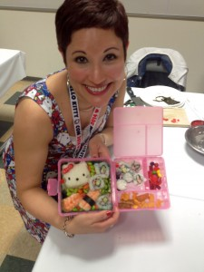 Hello Kitty bento box in action :: by radish*rose