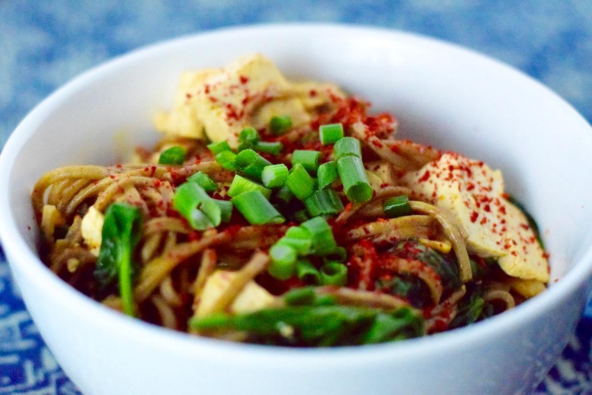 kimchi soba noodles :: by radish*rose